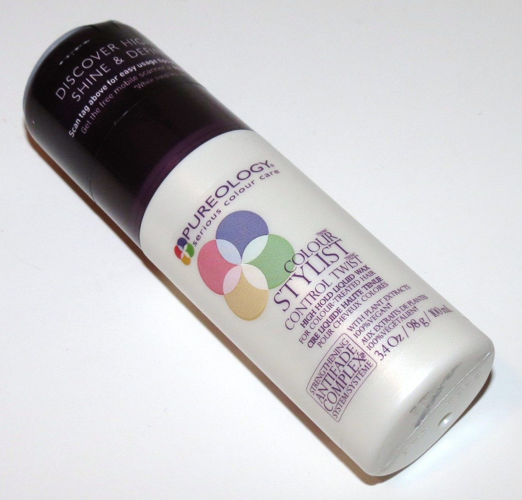 Pureology Control Twist High Hold Liquid Wax Photos & Review