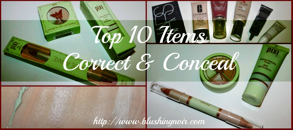 Top 10 Items to Conceal & Correct featuring PIXI Beauty!