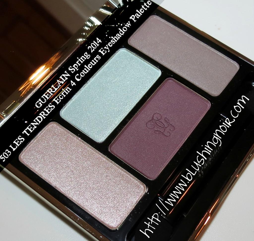Guerlain 503 LES TENDRES Écrin 4 Couleurs Eyeshadow Palette