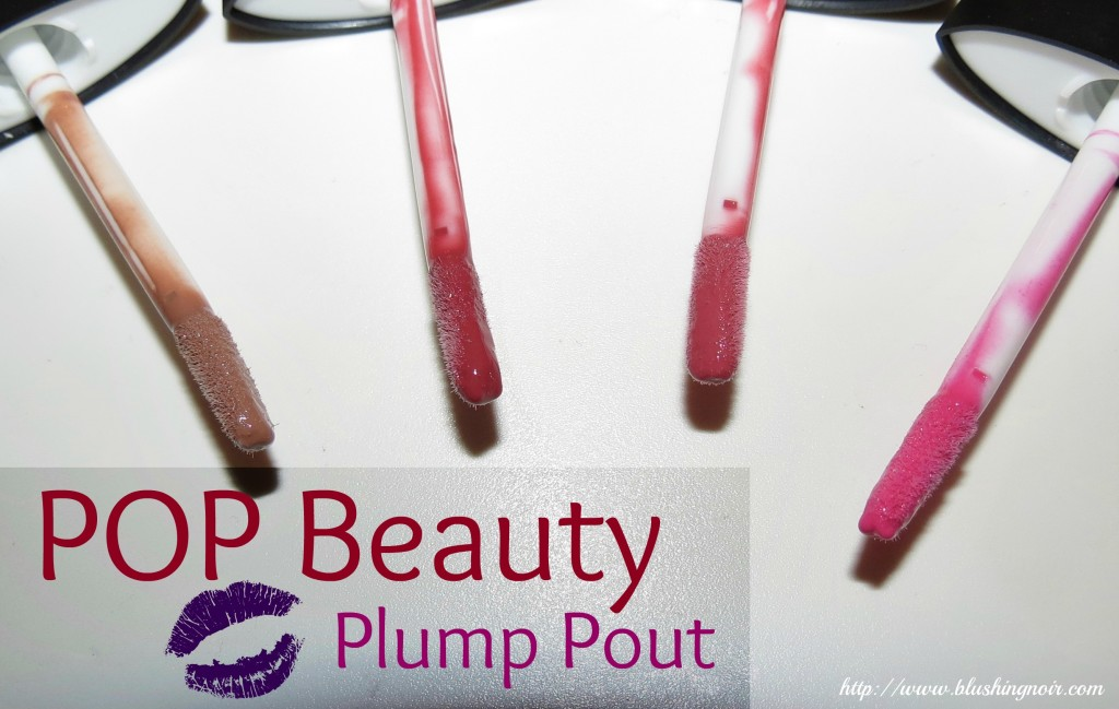 POP Beauty Plump Pout Swatches & Review