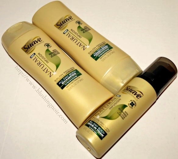 Suave Natural Infusion All Day Body Hair Care