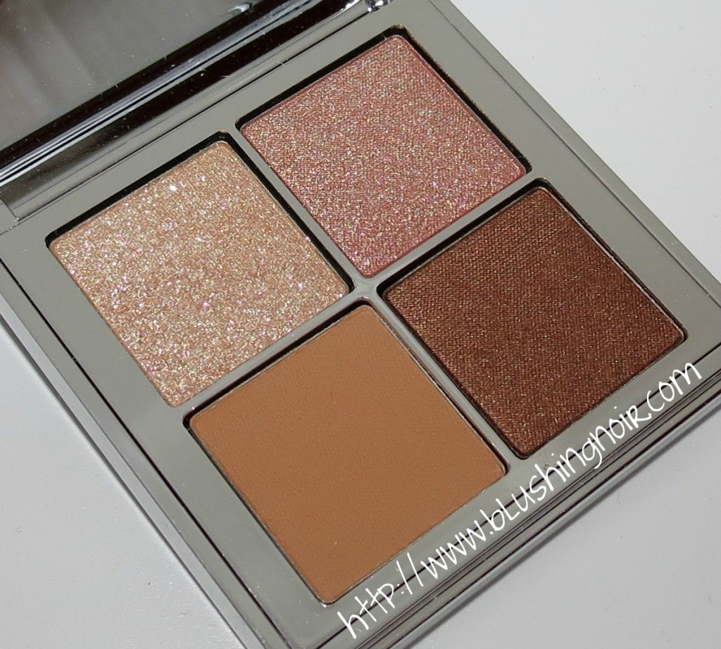 Bobbi Brown Bronze Nude Glow Eyeshadow Palette Swatches Review