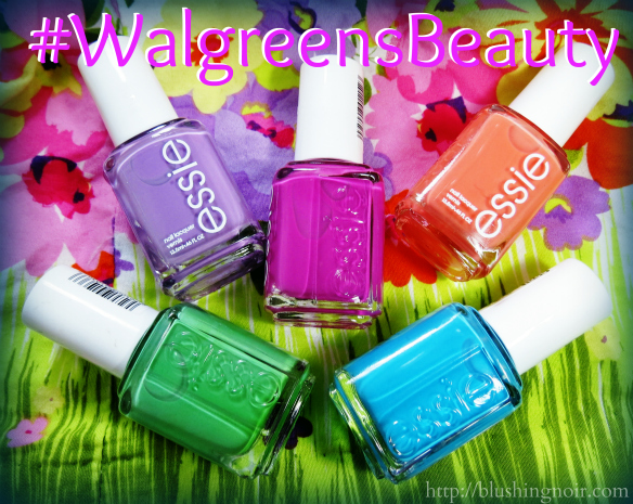 Essie Neons 2014 Swatches #WalgreensBeauty #CollectiveBias #shop