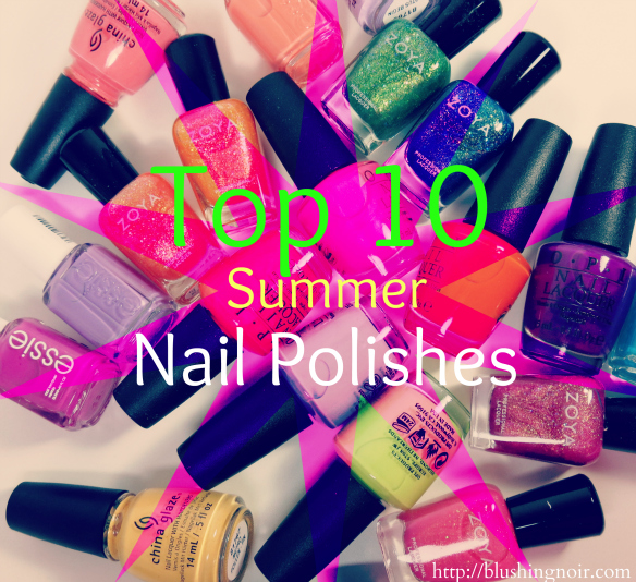 Top 10 Summer Nail Polishes
