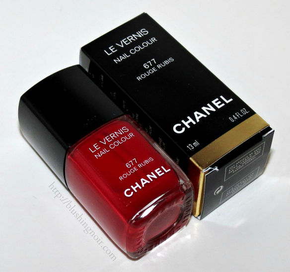 Chanel Rouge Rubis Le Vernis Nail Polish Review