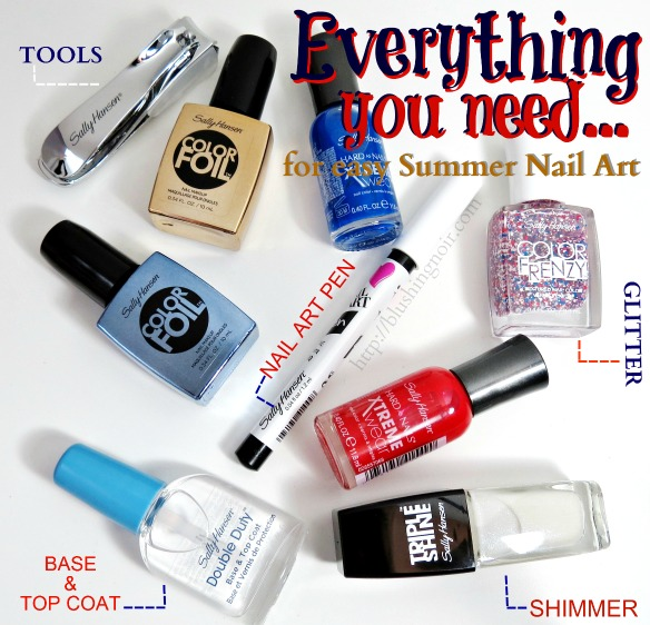 Easy Nail Art Essentials #MySummerLook #CollectiveBias