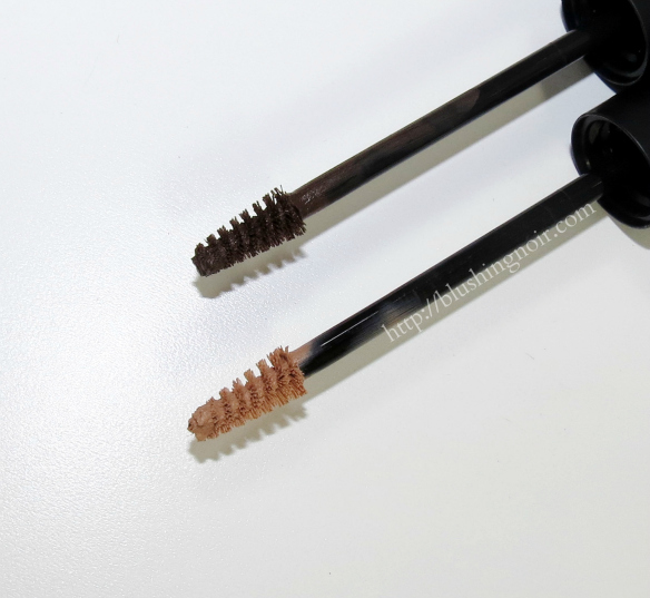 MAC Pro Longwear Waterproof Brow Set Swatches