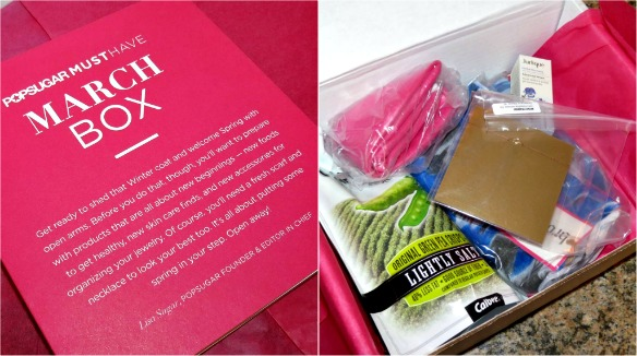 POPSUGAR Must Have Box March 2014, May 2014 Swatches + Review