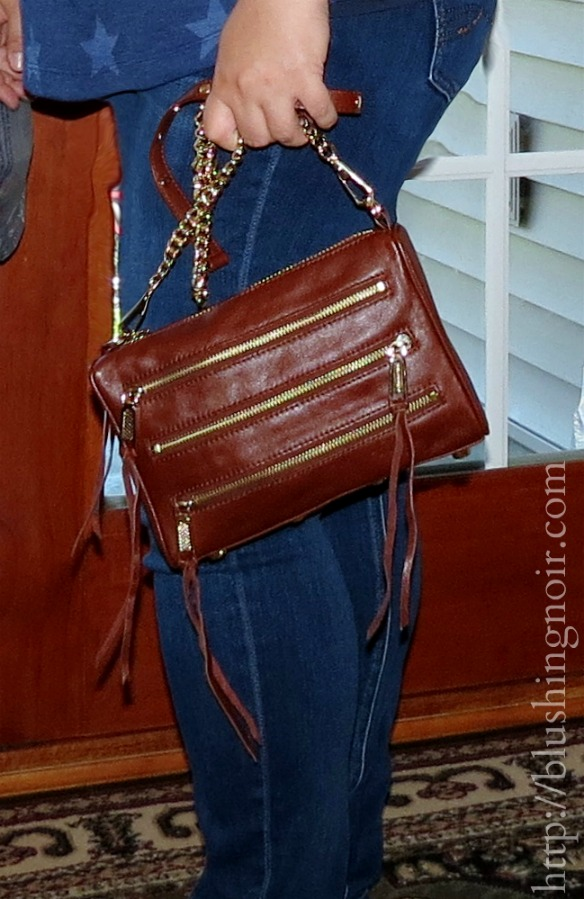 Rebecca Minkoff Mini 5-Zip Cross Body Bag