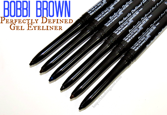 Bobbi Brown Perfectly Defined Gel Eyeliner Review