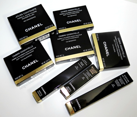 Chanel Etats Poetiques Fall 2014 Swatches Review Photos