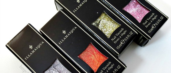 Illamasqua Shattered Star Nail Polish Collection
