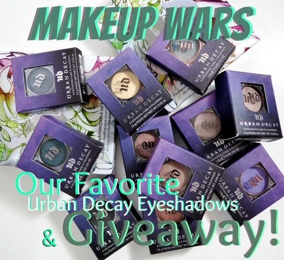 Makeup Wars Urban Decay Giveaway
