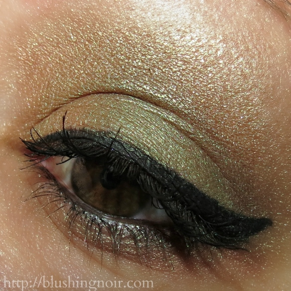 Urban Decay Eyeshadow Look Mildew