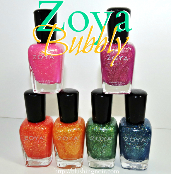 Zoya Bubbly Nail Polish Collection Review Swatches