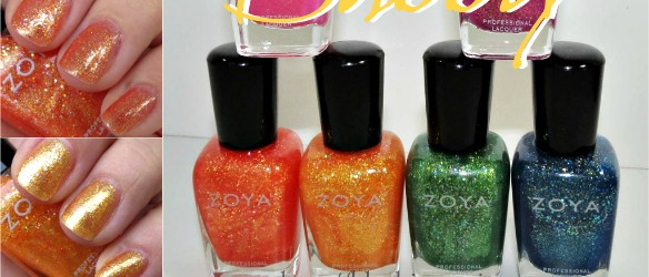 Zoya Bubbly Nail Polish Collection Swatches Review