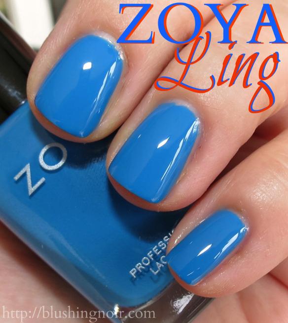 Zoya Ling Nail Polish Swatches
