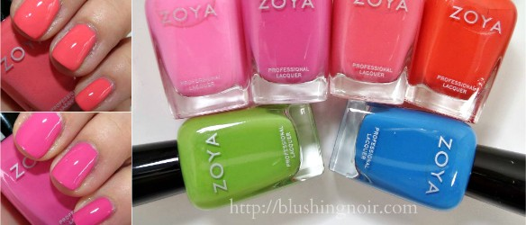 Zoya Tickled Nail Polish Swatches Review Photos