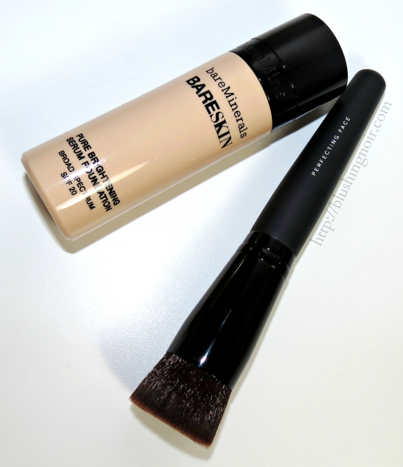 bareMinerals bareSkin® Pure Brightening Serum Foundation Broad Spectrum SPF 20 review