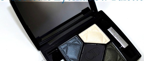 Dior Pied-de-Poule 5 Couleurs Eyeshadow Palette swatches review eotd