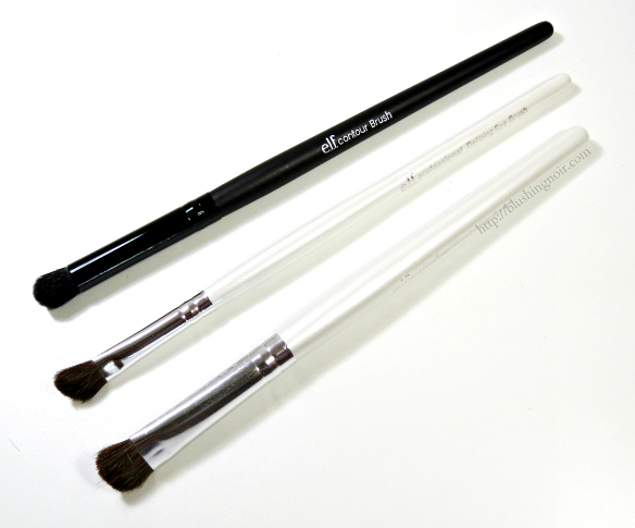 ELF Brushes review