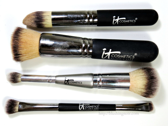 IT Cosmetics brushes review