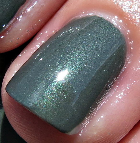MAC Before Dawn Nail Polish macro