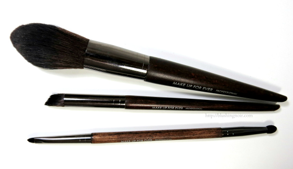 Make Up For Ever Brushes Review