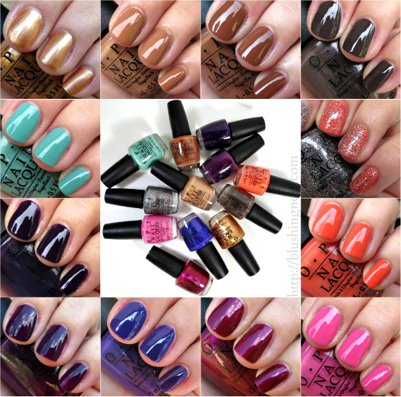 OPI Nordic Collection Swatches Review