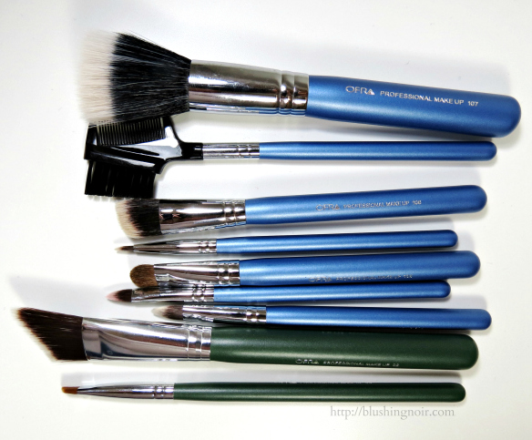 Ofra Makeup Brushes Review