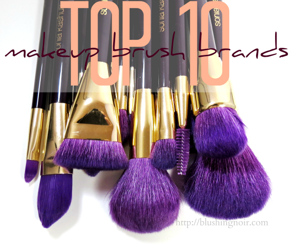 Top 10 Makeup Brush Brands