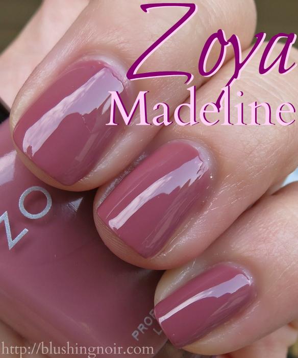 Zoya Madeline Nail Polish Swatches