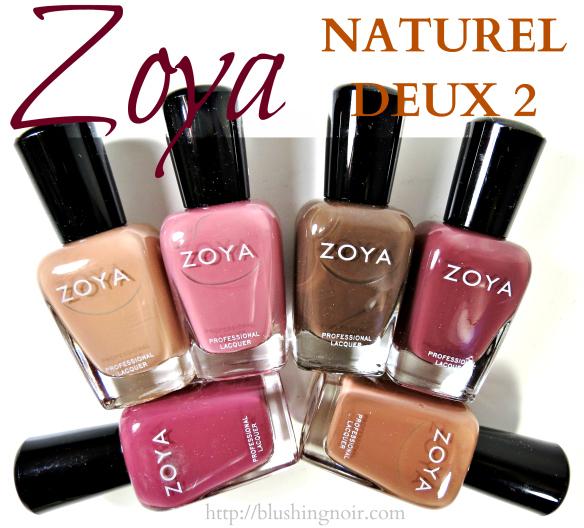 Zoya NATUREL DEUX 2 Nail Polish Collection Review