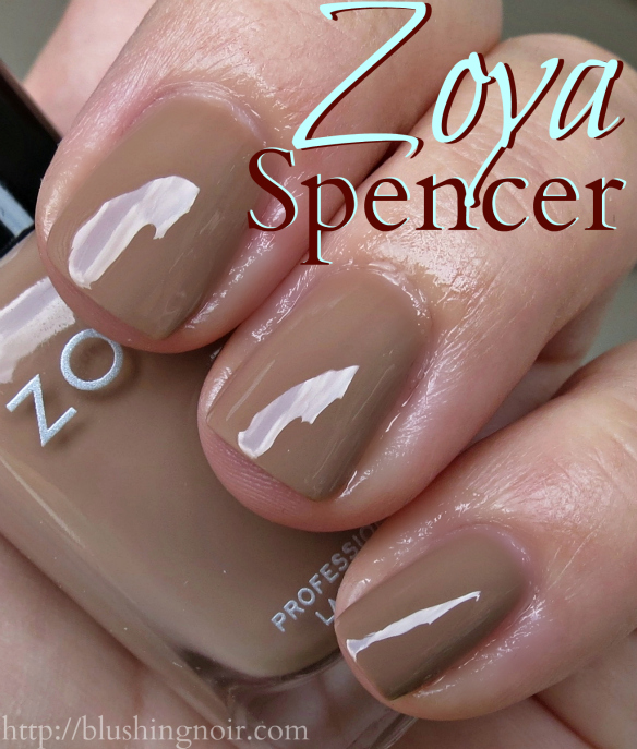 Zoya Spencer Nail Polish Swatches
