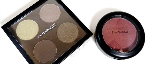 MAC A Novel Romance Swatches Review