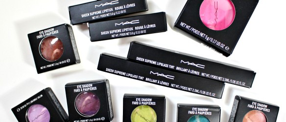 MAC Moody Blooms Collection Swatches Review