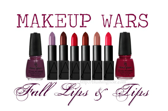 Makeup Wars Fall Lips & Tips