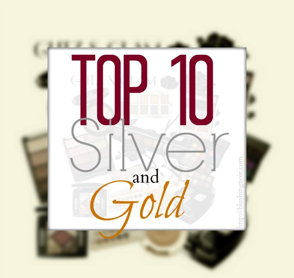Top 10 Silver and Gold Makeup