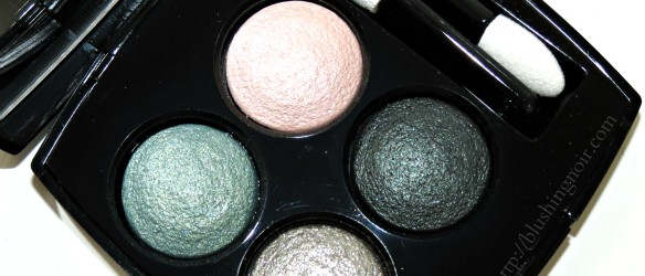 Chanel Les 4 Ombres Tisse Venitien Quadra Eyeshadow Swatches Review