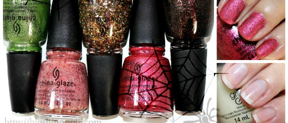 China Glaze Apocolypse of Colour Nail Polish Swatches Review