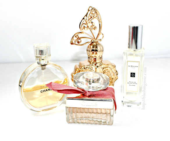 Favorite Perfumes for Fall