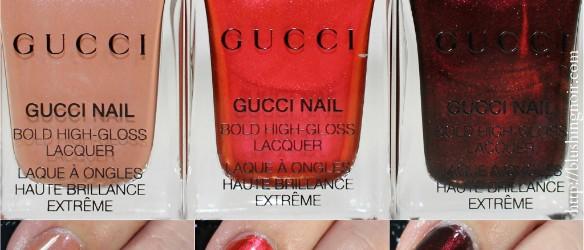 Gucci Nail Polish Swatches