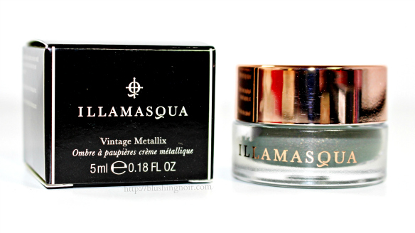 Illamasqua Bibelot Vintage Metallix Eyeshadow Review Swatches