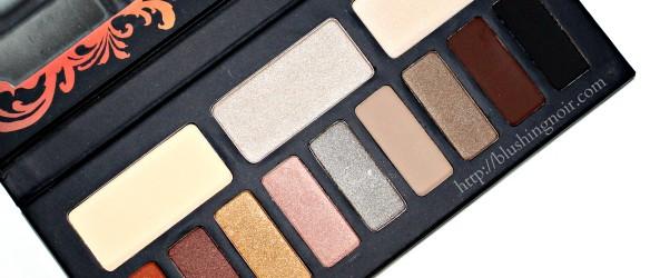 Kat Von D Monarch Eyeshadow Palette warm shades