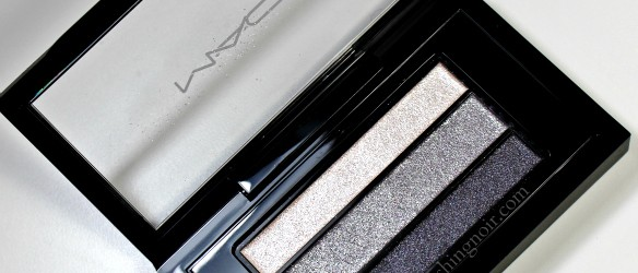 MAC Smoky Black Veluxe Pearlfusion Shadow Review #MACSmokyBlack