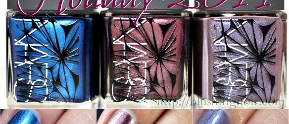 NARS Holiday 2014 Nail Polish Swatches