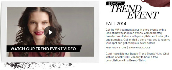 Nordstrom Beauty Trend Event