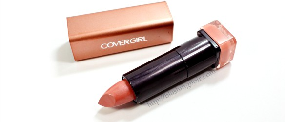 COVERGIRL Colorlicious Lipstick Caramel Kiss Review