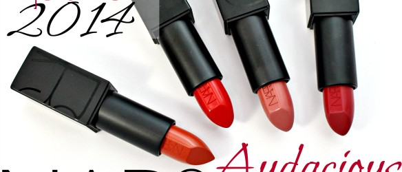 NARS Audacious Lipstick Review Swatches