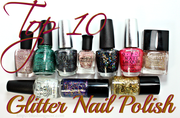 Top 10 Glitter Nail Polish